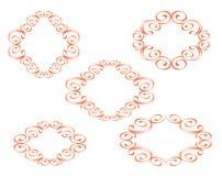 Vector dekorative Felder Lizenzfreie Stockfotografie