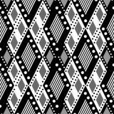 vektorhintergrund mit schwarzweiss raute vektor abbildung bild 62506089. Black Bedroom Furniture Sets. Home Design Ideas