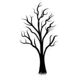 Vector del árbol Imagen de archivo libre de regalías