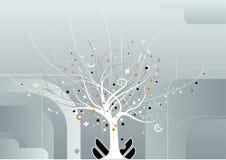 Vector del árbol del milagro Foto de archivo