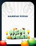 Vector del Año Nuevo Imagen de archivo libre de regalías