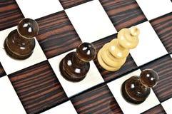 Vector del ajedrez Imagen de archivo