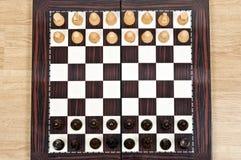 Vector del ajedrez Imagenes de archivo