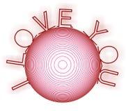 Vector del amor Fotografía de archivo libre de regalías