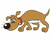Vector del animal doméstico del perro Imágenes de archivo libres de regalías