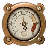 Vector del aparato de medición Imagen de archivo libre de regalías