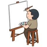 Vector del artista libre illustration