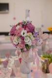 Vector del asunto con las flores Foto de archivo
