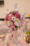 Vector del asunto con las flores Imágenes de archivo libres de regalías