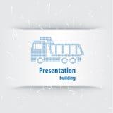 Vector del asunto de la presentación Template Fotos de archivo libres de regalías