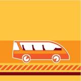 Vector del autobús Foto de archivo libre de regalías