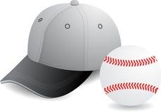 Vector del béisbol Imagen de archivo