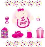 Vector del bebé Fotografía de archivo libre de regalías