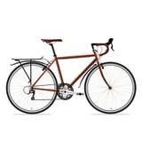 Vector del bicyle de Brown Fotos de archivo libres de regalías