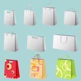 vector del bolso de compras Imágenes de archivo libres de regalías