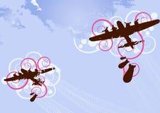 Vector del bombardero Foto de archivo libre de regalías