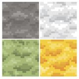 Vector del camuflaje del pixel Fotos de archivo libres de regalías