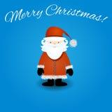 Vector del carácter de Papá Noel Imágenes de archivo libres de regalías