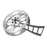 Vector del carrete de película Imágenes de archivo libres de regalías