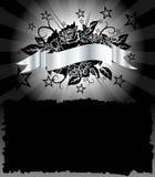 Vector del cartel del granero Imagen de archivo libre de regalías