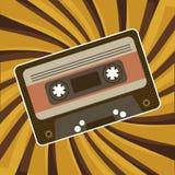 Vector del cassette Imagenes de archivo