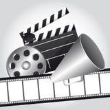 Vector del cine Fotos de archivo