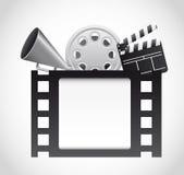 Vector del cine Fotografía de archivo