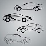 Vector del coche Imagenes de archivo