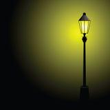 Vector del color de la lámpara de calle Imagen de archivo libre de regalías