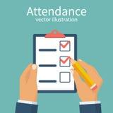 Vector del concepto de la atención ilustración del vector