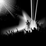 Vector del concierto Fotografía de archivo libre de regalías
