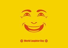 Vector del día de la risa del mundo libre illustration