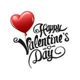 Vector del día de tarjetas del día de San Valentín Foto de archivo libre de regalías