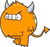 Vector del diablo del monstruo Foto de archivo libre de regalías