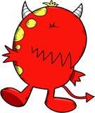 Vector del diablo del monstruo Imagen de archivo libre de regalías