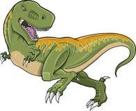 Vector del dinosaurio de Rex del Tyrannosaurus Foto de archivo libre de regalías