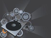 Vector del disco Imagen de archivo