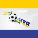 Vector del diseño de juego de fútbol libre illustration