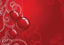 Vector del diseño de la Navidad Fotografía de archivo