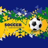 Vector del diseño del fútbol stock de ilustración