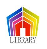 Vector del edificio de biblioteca ilustración del vector