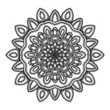 Vector del ejemplo de la flor de la mandala fotos de archivo