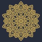 Vector del ejemplo de la flor de la mandala foto de archivo libre de regalías