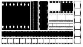 Vector del ejemplo de la tira de película Libre Illustration