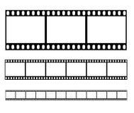 Vector del ejemplo de la tira de película Stock de ilustración