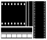Vector del ejemplo de la tira de película Ilustración del Vector