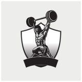 Vector del ejemplo del gimnasio Fotos de archivo