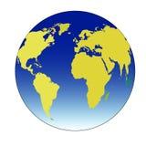 Vector del ejemplo del globo ilustración del vector