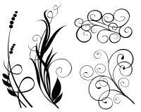Vector del elemento de la decoración Imágenes de archivo libres de regalías