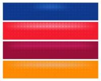 Vector 10 del EPS - bandera horizontal de la tela stock de ilustración